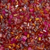 Tiny Flats 5X3.5mm Raspberry Mix